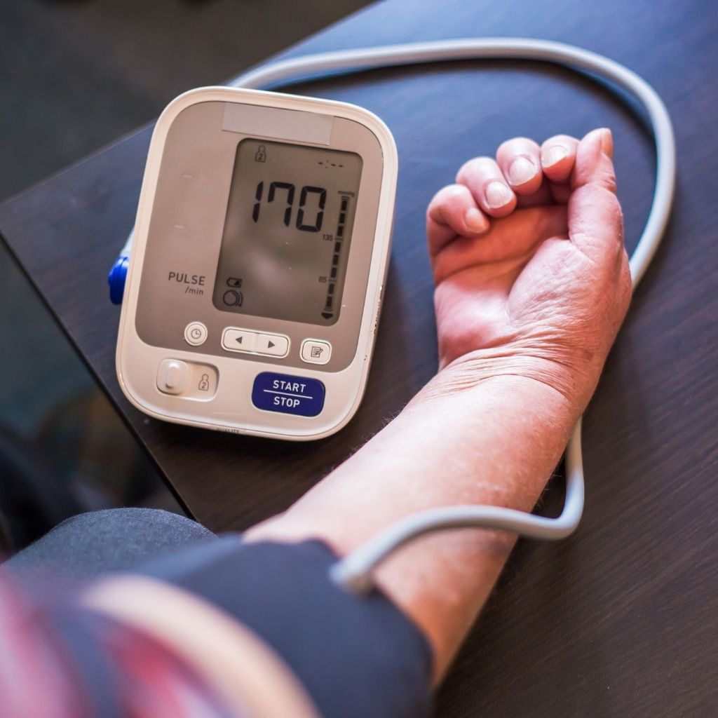 Patient, At-home, Blood Pressure Monitor, Arm, Cuffs