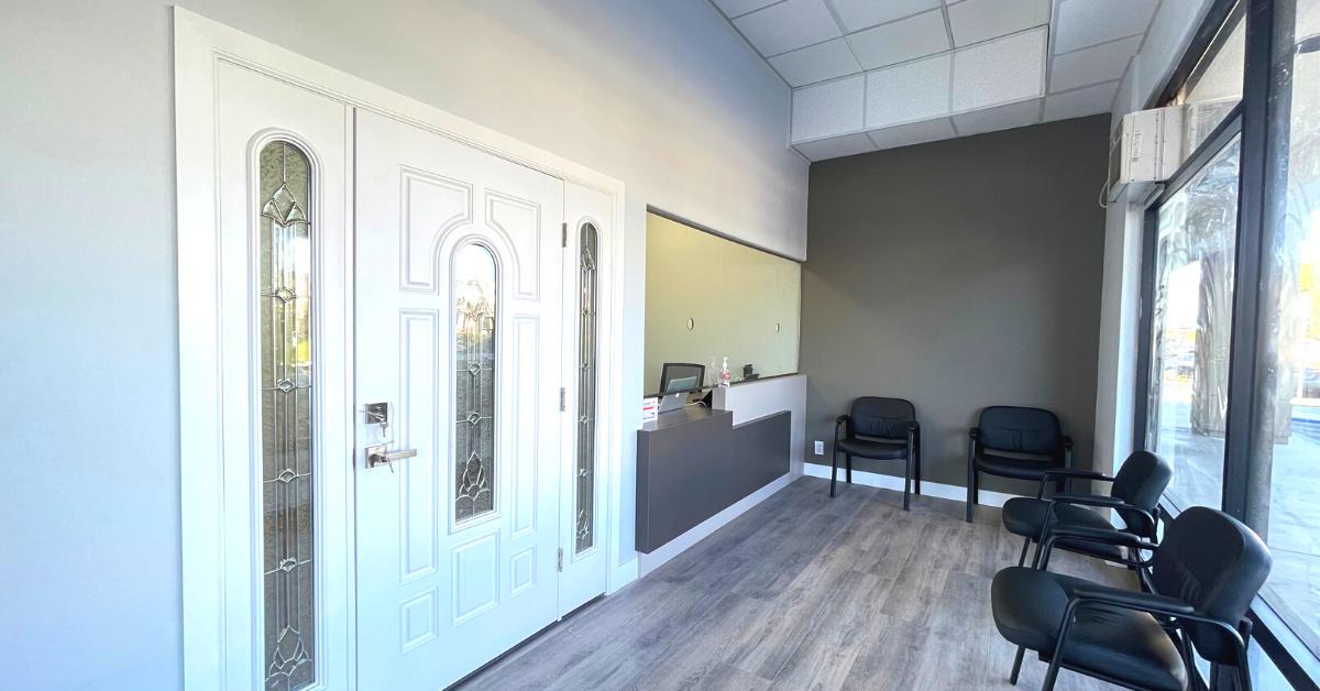 Medical Office, Patient WAiting Room, Santa Ana